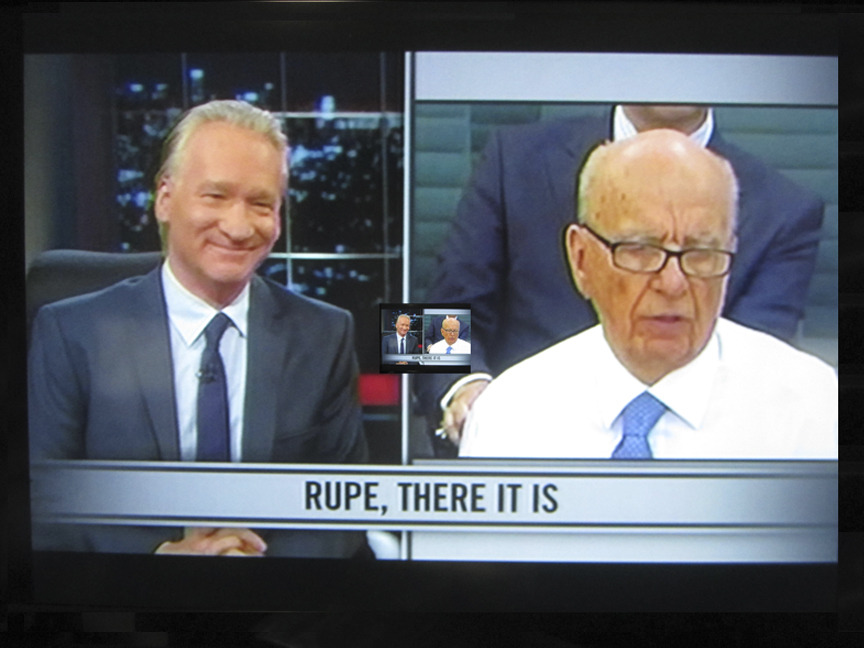 leftish:  Rupert Murdoch - Optical Illusion?