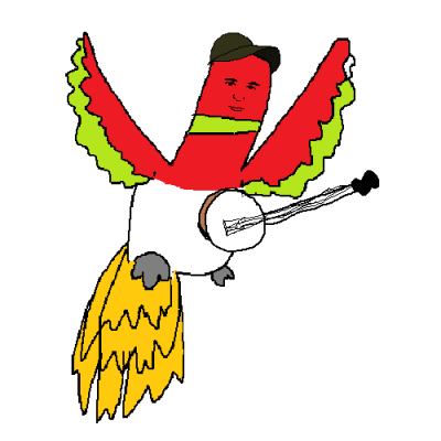 badlydrawnpokemon:  Sufjan Stevens as Ho-Oh