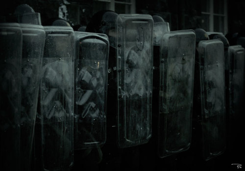 Riot police by ~EinarS This is the world we are choosing. A different world is coming.