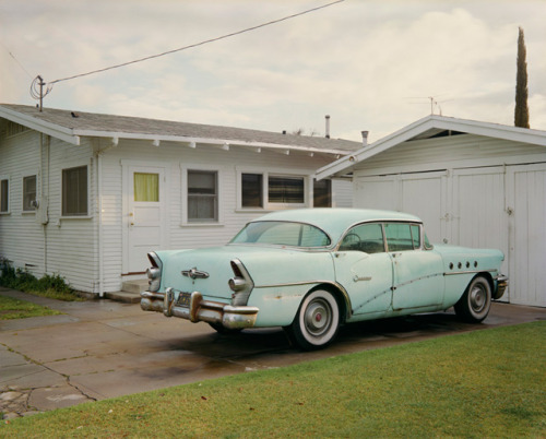 Tim Bradley - Untitled (Blue Buick)
