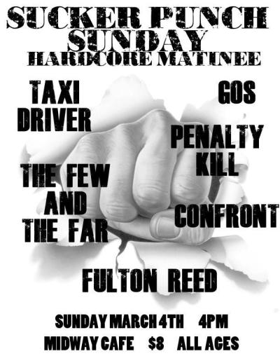 So this show is THIS SUNDAY!  Get pumped. It will be the first Few and The Far show in over a year!!  I am so excited.  and I hope to see a ton of you there!!! Please do me a favor and repost this as well ~MG