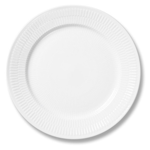 Royal Copenhagen Plates As more and more chips appear in my standard issue Ikea plates, I am slowly replacing them with proper ones from Royal Copenhagen, the latest batch of which arrived yesterday. I first saw this crockery in CPH itself; one of my best friends lives out there and had a full set on his wedding list. The wedding itself was at Orangeriet restaurant in the city which used a variation of this crockery too - see photo above (incidentally - isn't that the best-looking wedding meal you've ever seen?). It's decent stuff so it isn't cheap, and as such I'm slowly building up a full set.  I have never seen their stuff in London, but it can be bought direct online, or from here. Ideally, you should get busy and visit their store in Copenhagen. I am slightly obsessed with Denmark. I realise I do pretty good PR to the contrary, but I am not gay.