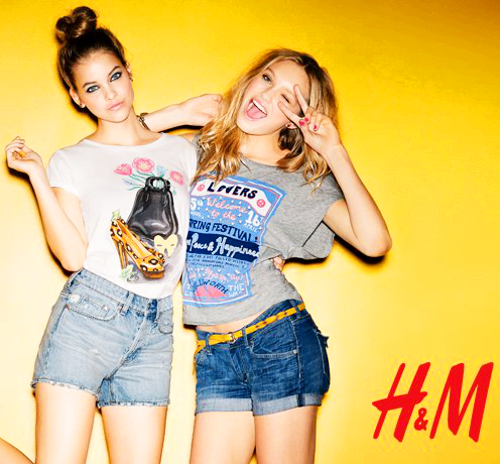 Barbara & Romee H&M Perfect Prints, 2012