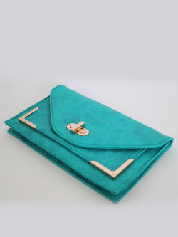 Turquoise Clutch from Mickey's Girl http://mickeysgirl.com/new-arrivals/turquoise-clutch.html