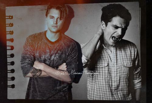 Programa : Adobe Photoshop Cs3Montaje: Mini.ma7• Sebastian Stan & Toby Hemingway