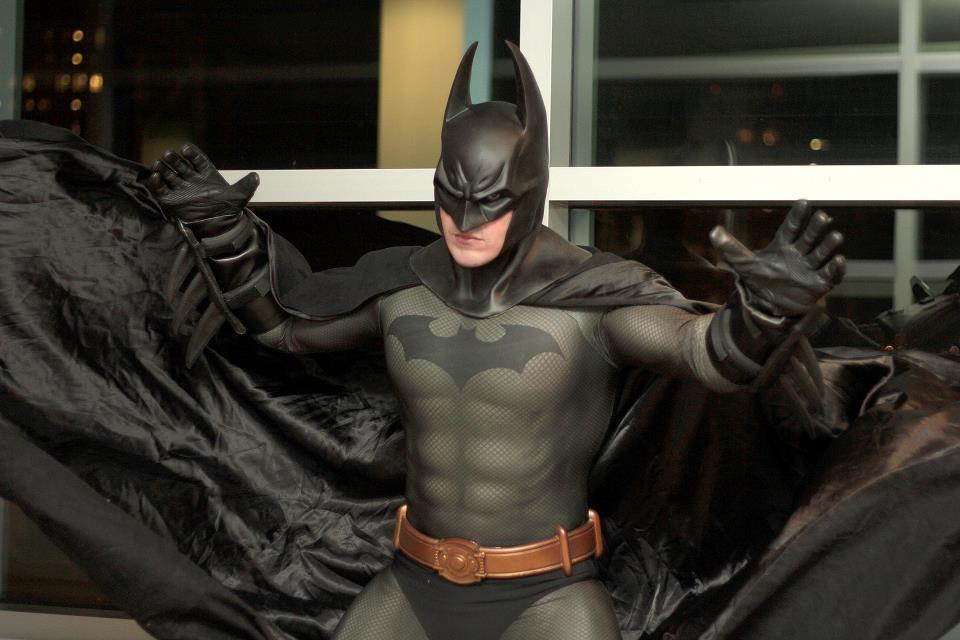 comicbookcosplaymen:  Spencer Doe as Arkham City Batman. Photography by Rodney Brown