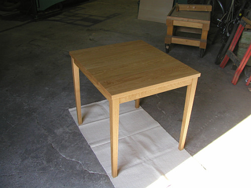 Oak Small Dining Table.