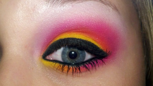 My Sugarpill Cosmetics look :3
