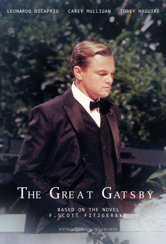 is this poster even real? haha eyyaothisisme:    The Great Gatsby