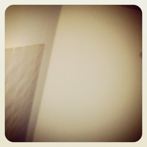 Day One | Up | #MarchPhotoADay Up above my bed  (Taken with instagram)