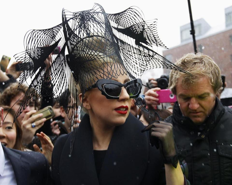 Lady Gaga launches foundation - Harvard and Oprah Winfrey help Lady Gaga launch foundation whose mission includes discouraging bullying, online and at school.