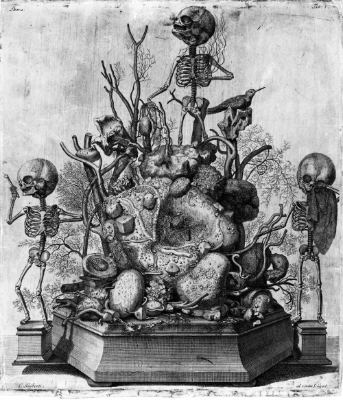 Allegory of Death by Cornelis Huyberts
