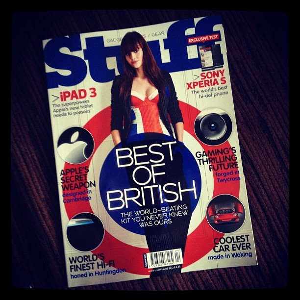 March edition of @stufftv has arrived at #Avorah :-) (Taken with instagram)