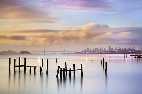 arnaia:  Sausalito Morning #2 - Marin County California (by PatrickSmithPhotography)