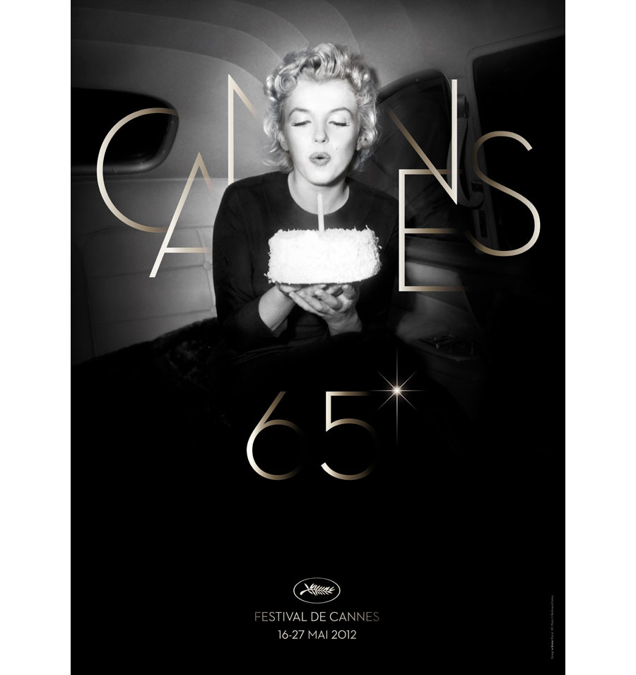 Poster for the Icon of Cannes' 65th Edition: Marilyn