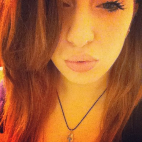 High, I'm Brittany (; #redhead #high #eyes #weed (Taken with instagram)