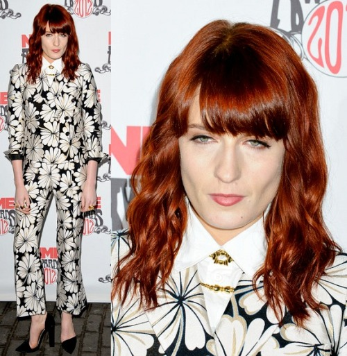 Florence Welch in Moschino spring 2012