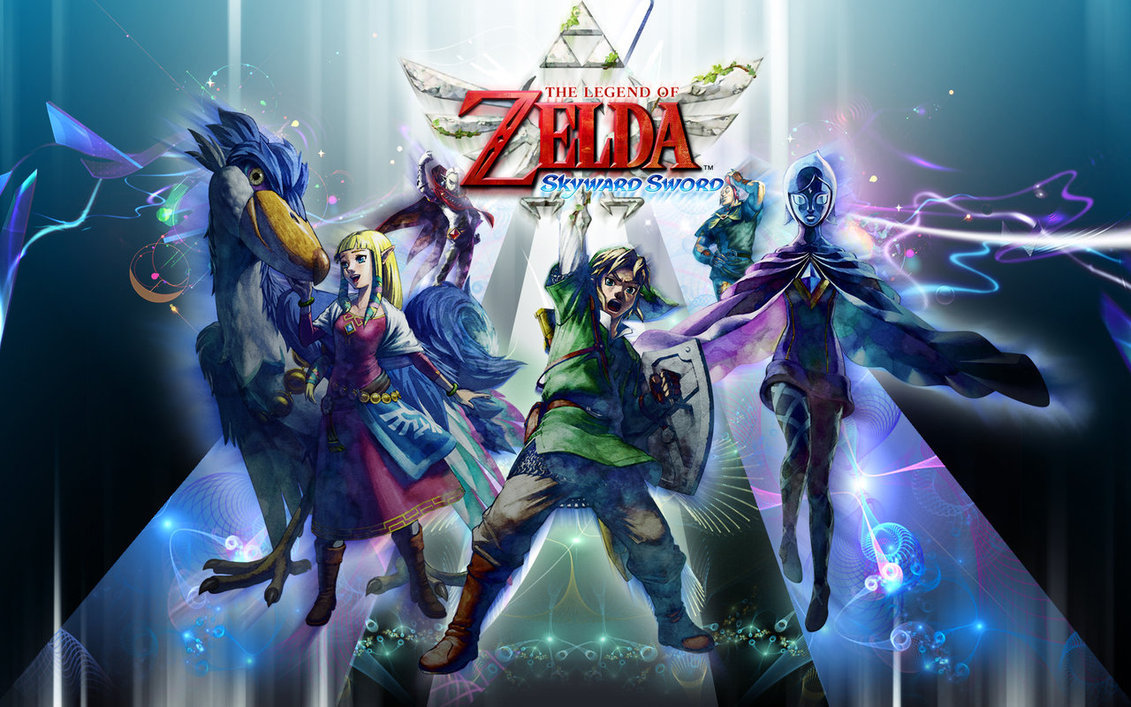 The Legend of Zelda Skyward Sword Wallpaper Hd by Kalsypher