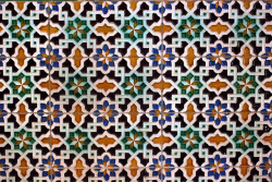 patternatic:  Tile Pattern, Seville  Has anyone ever mentioned to you all that Sevillian tile is amazingly beautiful? I believe this pattern was in the entryway to the Alcazar. It was definitely one of my favorite things about the city, which I now miss like crazy.