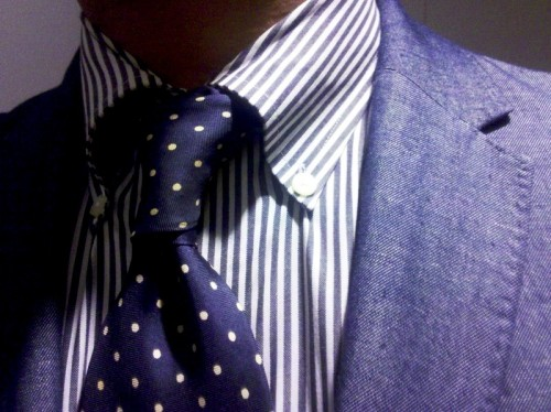 Ralph Lauren shirt- Paul Smith tie and jacket