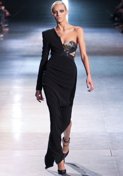 vogue:  Anthony Vaccarello Fall 2012 Photo: Marcus Tondo/GoRunway.comVisit Vogue.com for the full collection and review.