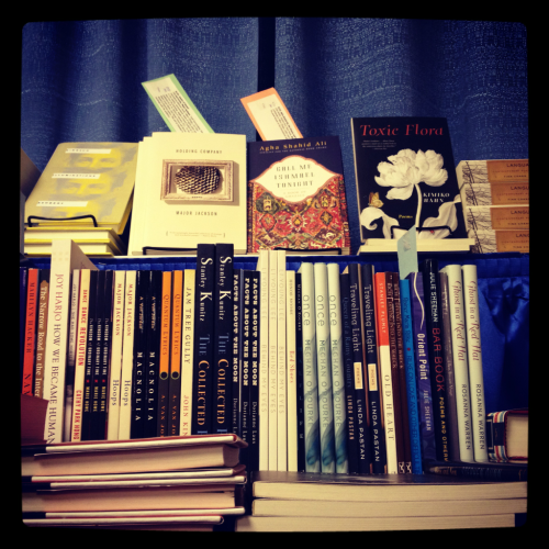 wwnorton:  Poetry for sale at #awp12.