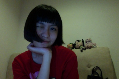 cut my hair short, again!