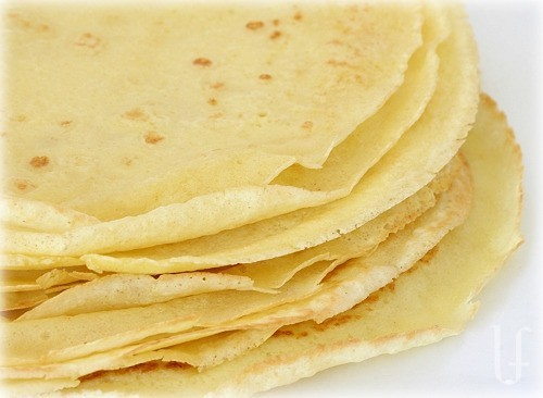 Crepes Low carb! Use as wraps for any time of day, top with fresh lower-sugar fruits, etc. Very versatile and delicious :)
