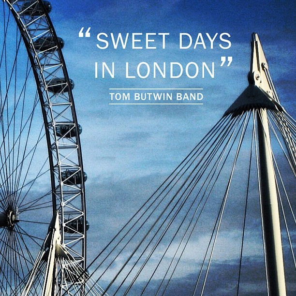 New music! #london #londoneye #tombutwinband #itunes #ferriswheel #music #blues #detroit (Taken with instagram)