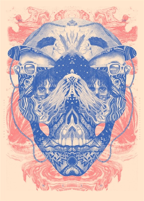 "valistika:  NEW PRINT by Valistika ""WILDSKULL""VALISTIKA STUDIO (Spain) via CurioosAdvanced"