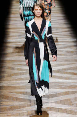 The dress. Dries Van Noten at Paris Fashion Week Fall Winter 2012.
