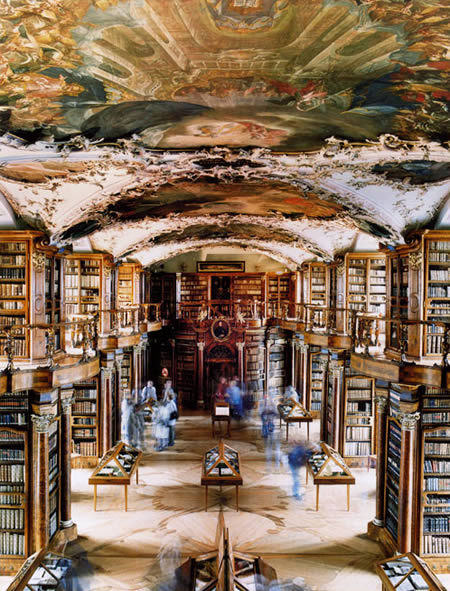 Abbey Library St. Gallen, Switzerland  I just had to repost it