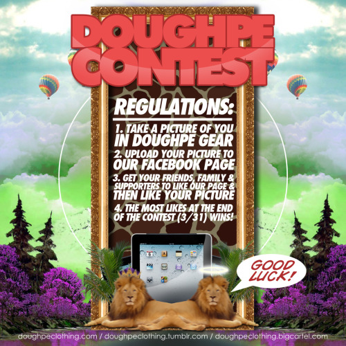 iPad2 Giveaway Doughpe Contest! Regulations & Rules