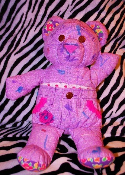 "Remember Doodle Bears?! I used to have one! I think I used to think they were called ""Doo Doo Bears."""
