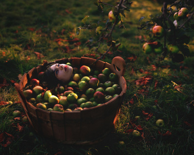 strange apple by Rosie Anne on Flickr.