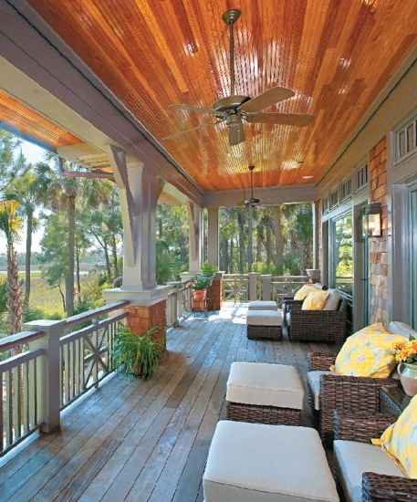 georgianadesign:  Overlooking Cinder Creek on Kiawah Island, SC. Boxwood Home and Interiors.