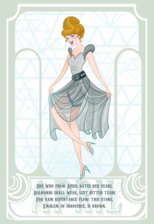 Disney Gems - April (Diamonds)