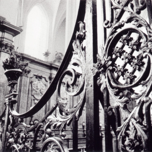 midnightineurope:  Wrought Iron Detail Brussels