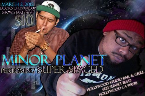 MINOR PLANET - SUPERSPACED LIVE in Hollywoood !