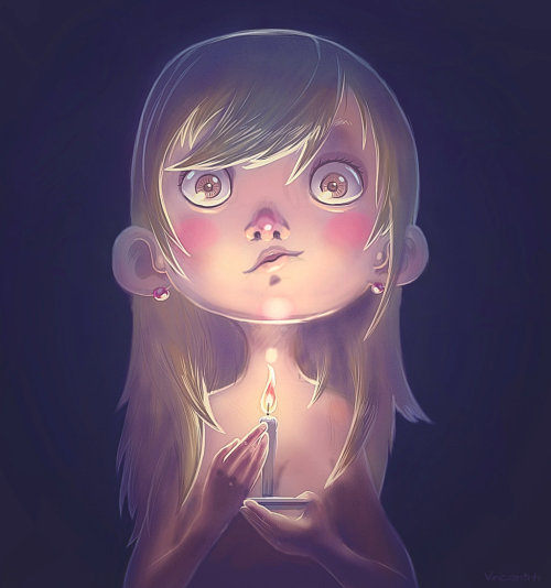 just-art:  Candle by Vincent Nahuel Hachen