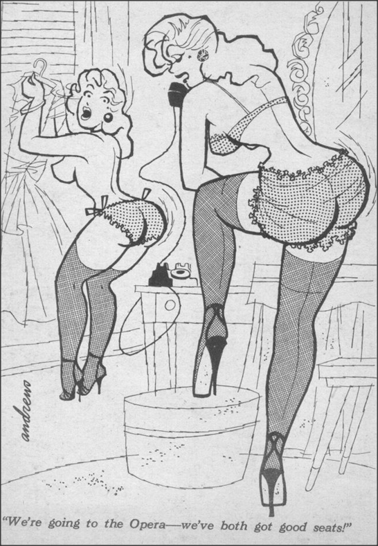 Going to the Opera     Snappy magazine 1956