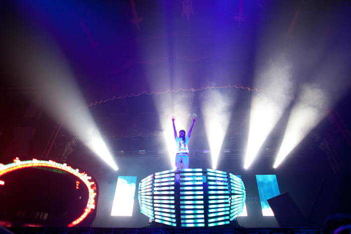 Steve Aoki live at the Aragon Ballroom Chicago