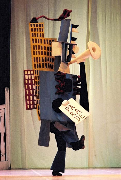 Costume from ballet Parade designed by Pablo Picasso