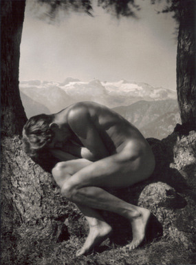 Rudolf Koppitz, Rudolf Koppitz, In the Bosom of Nature, ca. 1923.