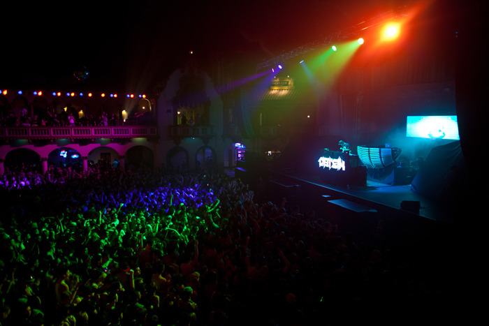 Datsik live with Steve Aoki at the Aragon Ballroom Chicago