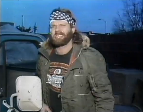 """This is another side of America, baby. This is Hacksaw Jim Duggan's America that's not afraid of sweat. A little dirt underneath the fingernails makes no difference to me."""