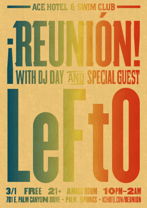 DJ LeFtO, hailing from Belgium, joins Day on the decks tonight for a special edition of ¡Reunión!.