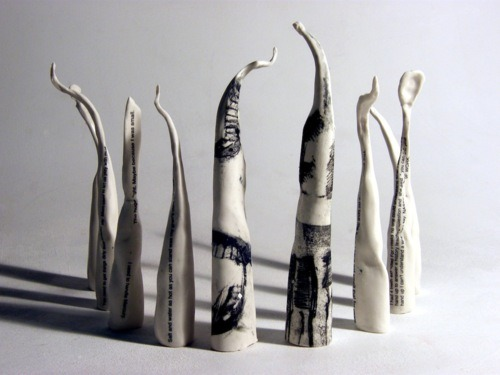 Ceramic Impressions by Judy DiBiase, exhibition at the BDA Dental Museum, London, UK