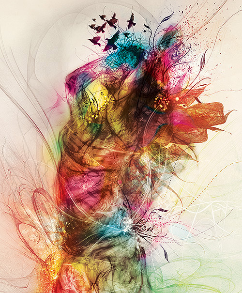 darksilenceinsuburbia:  Tony Ariawan. Beauty Spirit (recolouring version).