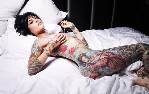 Inked Girl (by S!Ri.URZ)